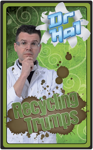 Dr Hal's Recycling Trumps - Click Image to Close